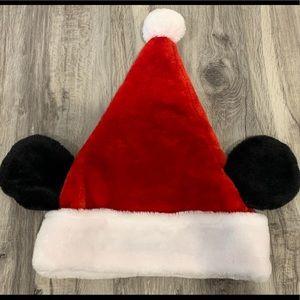Disney Mickey Mouse Santa Hat.